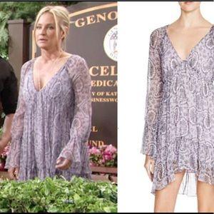 Elizabeth and James Thadine Lavender Dress NWT